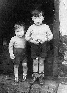 John and his older brother Alan