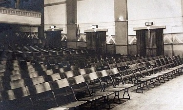 Ebley's Cinema interior