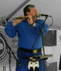 John Good and flute