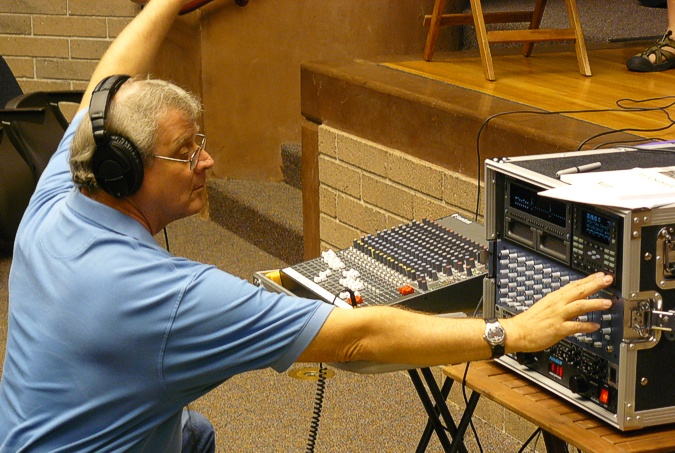 Kyle Harris - Glendale Lib recording John Good, Aug 2007