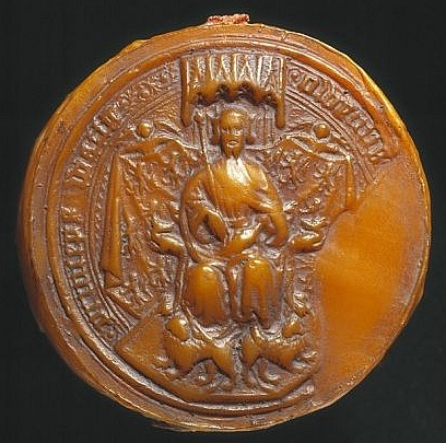 The great seal of Owain Glyndwr